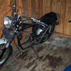 And my project bike I hope to have it rebuilt next year