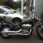 2009 Honda Shadow 750