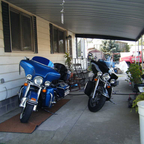 Porch getting full.