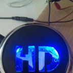 Hand made with LED\'s inside