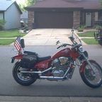 1992 Honda shadow vlx