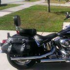 My 2nd Harley. Looking to trade next spring for a new Road Glide.