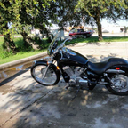 2007 Honda shadow 750