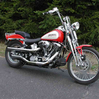 95 FXSTS Springer Softail. My first Harley, although I \'ve been riding for 30 years.