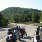 On the 1,000 mile day ride to Kentucky