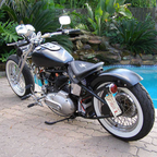 1974 Harley Davidson I named her Sharlene