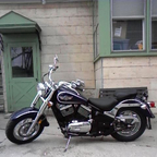 2001 Kawasaki vulcan 800 classic