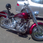 Well.. like all Harleys.. It started off as a Fatboy.. but I\'ve made it my own..