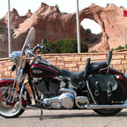2001 Harley Davidson FLSTSI Heritage Springer