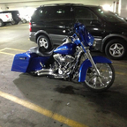2012 Street Glide Custom work done by Carl David Concepts in Flint Michigan