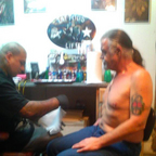 Getting tatted