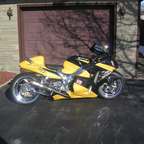 My best friends Busa...he built the thing and I painted it. FAST