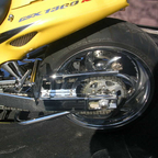 8 inch extended swing arm Chrome an Slammed