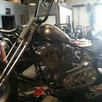getting tank mocked up,wiring for engine all done