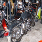 the bike that is always in the process of being completed...lol