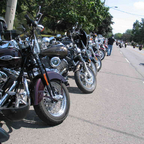 Port Dover friday 13th 50th anniversary run 2010