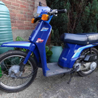 1986 Honda City Express SH50