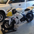 My Supersport racebike for the CCS 2014 season.