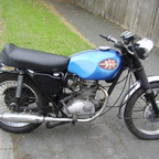 my 250 cc 40yr old bsa starfire