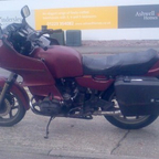 old bmw - currently being resprayed ready for winter riding