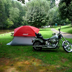 Camping at Rider\&#39;s Roost. What a laid back place.