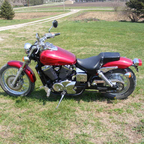 2004 Honda 750 Shadow Spirit
