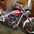 2004 Harley Davidson ridged chopper