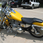 2001 Harley Davidson Sportster with Fatboy Tank and Fenders