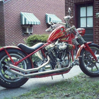 This is my Custom Bobber.