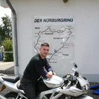 Riding the Nurburgring in Germany