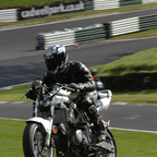 Over the mountain at Cadwell Park in England