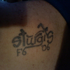 MMy first tat Aug 2006 in sturgis
