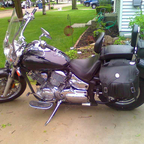 This is my Yamaha V Star 1100 custom