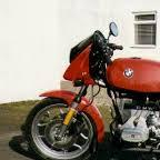 1984 BMW R65 LS  red of course!