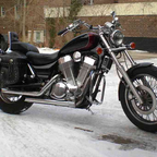 The new bike.... Feb 2010...where\'s the warm weather?