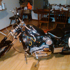 My first harley now my son wants it...