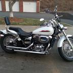 2002 Honda Shadow 750