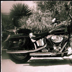 2007 Harley Davidson FLSTC Heritage Softail Classic