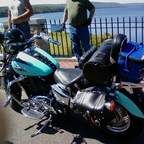 "This is my bike, fondly called \'LoverBoy"" at the Quabbin Reservoir"