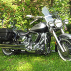 My 2006 Roadstar Stage II, 76HP & 103 ft/lb at the rear wheel. LOVE IT! Best big twin I\'ve ever had.