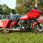 2005 custom built road glide aka pheonix muscle