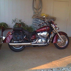 2006 Honda Shadow Areo 750