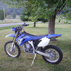 The dirt road bike