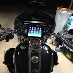 Yes Full Mini I-Pad with Wi-Fi and full navigation.. Just a start of the custom work.