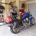 home after doing 9500 kms awesome cant wait to do it again.bike hummed all the way.