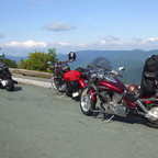 Blue Ridge Parkway in Virginia.
