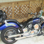 2008 Yamaha 1100  v star custom