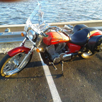 2007 Honda 750 shadow