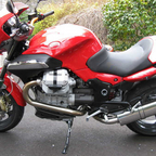 My touring bike - 2008 Moto Guzzi 1200 Sport
