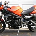 My sport bike.  Very fast, great handling and in the hard to find matte orange version!